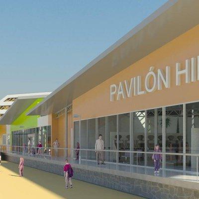 09 Pešia zóna Fajka a pavilón zábavných hier Centra športových hier a zábavy